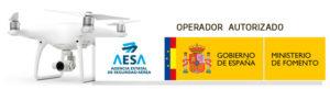 Operador de drones en Asturias autorizado por AESA