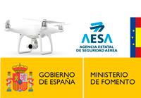 operador de drones Asturias autorizado por AESA
