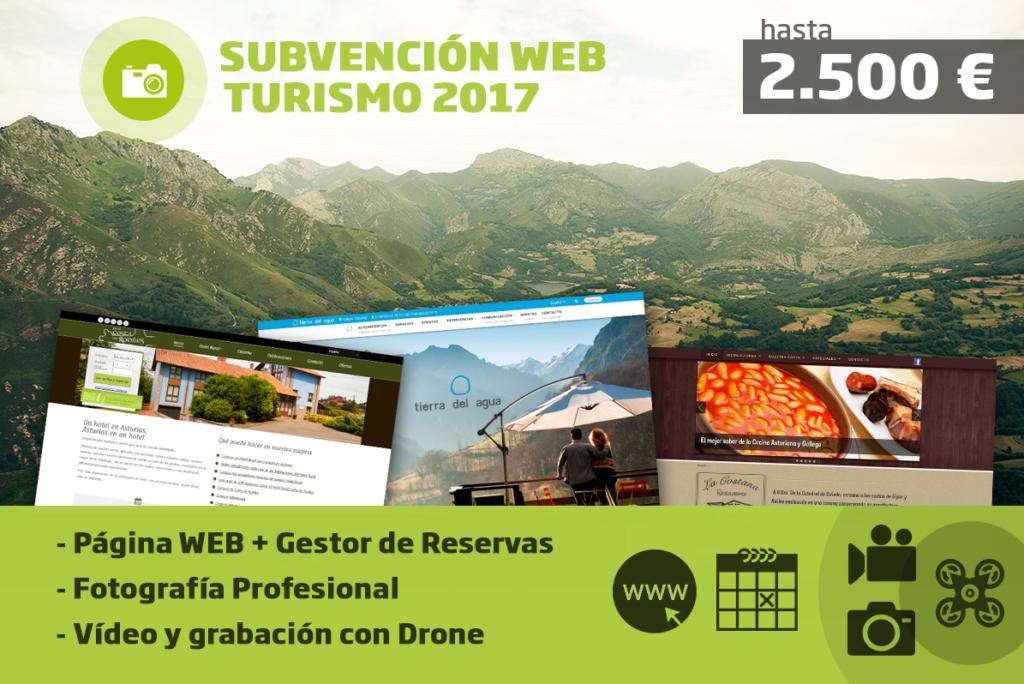 Subvención Web Turismo Asturias 2017